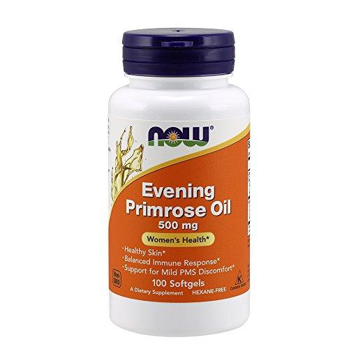 NOW Evening Primrose Oil 500 mg,100 Softgels