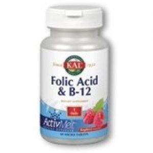 Kal B-6, B-12, Folic Acid ActivMelt, 60 Tabs