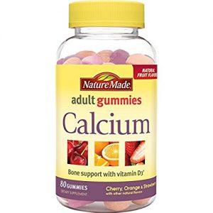 Nature Made Calcium Adult Gummies, 80 Count